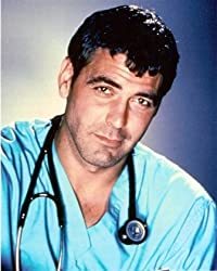 George Clooney ER Dr. Ross 16x20 Photo