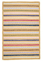 Seascape Rug, 3 by 5-Feet, Gingerlily