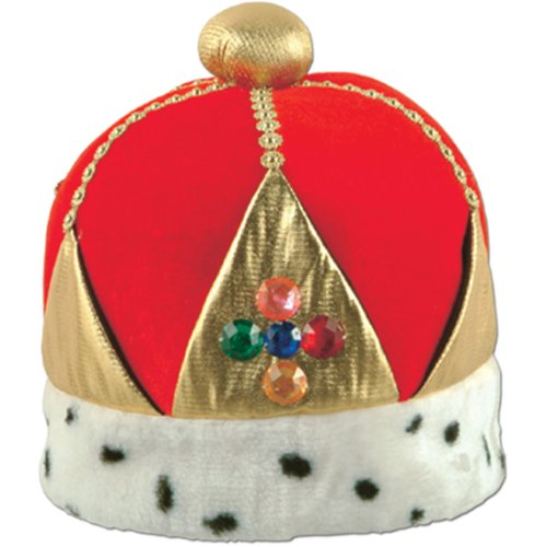 Plush Imperial Queen's Crown