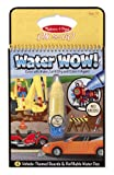 Melissa & Doug Water Wow Coloring Book - Vehicles