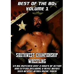 Southwest Championship Wrestling: Best Of The 80's Volume 1