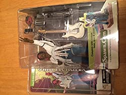 1st Production Run Hard To Find No Fender Stratocaster Logo No Rounded Head Stock Mc Farlanes Spawn Jimi Hendrix Figure Woodstock Concert