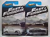Hot Wheels Fast & Furious 2 Vehicle Set 2009 Nissan GT-R & 2011 Dodge Charger R/T