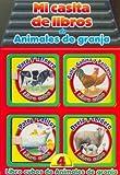 Mi Casita de Libros de Animales de Granja (Spanish Edition)