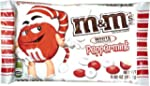 M&MS WHITE PEPPERMINT CHOCOLATE CANDI...