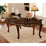 """31"""" 18th-century Antique Replica French Furniture Solid Mahogany Executive  ...."""
