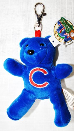 51vcz15k0vL Cheap  Forever Collectibles Chicago Cubs Plush official MLB 4 Keychain teddy Bear