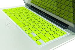 Kuzy - Neon YELLOW Keyboard Silicone Cover Skin for MacBook / MacBook Pro 13