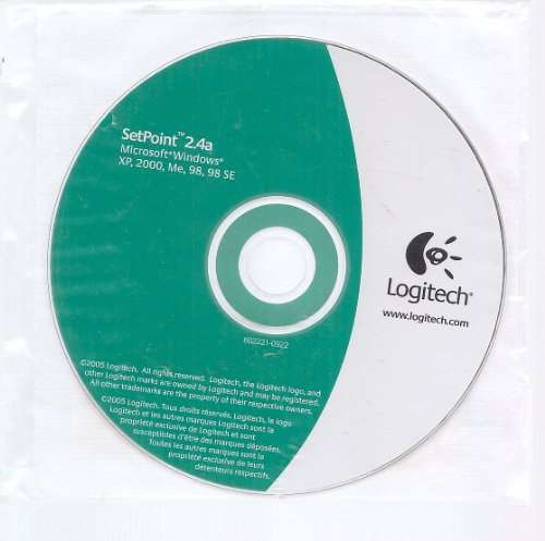 Logitech Setpoint 2.4A Cd Software For Mouse & Keyboard
