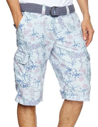 Kaporal Worms Men's Shorts Sky Print W34 IN