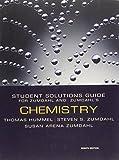 img - for Chemistry Student Solutions Guide for Zumdahl & Zumdahl