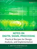 Notes on Digital Signal Processing