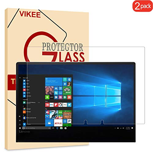 [2 Pack] VIKEE Compatible Lenovo Yoga 910 14in Screen Protector, HD Clear [Anti-Fingerprint][Bubble-Free][Easy to Install] 9H Hardness Tempered Glass Film for Lenovo Yoga 910 14in [+Peso($51.00 c/100gr)] (US.AZ.9.99-0-B07G9Z66J1.3)