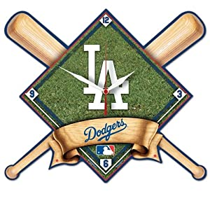 Los Angeles Dodgers High Definition Wall Clock by WinCraft