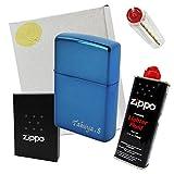 ZIPPO(ジッポー) 名入れ サファイアブルー ♯20446
