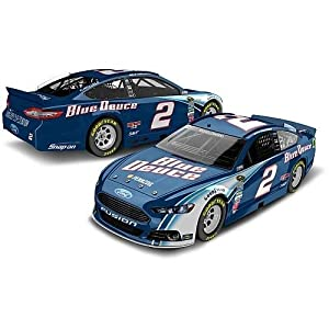 Buy Action Racing Collectables 2013 Brad Keselowski #2 Blue Deuce Youth Version Frod Fusion 1 64 Diecast Kidshardtop by Action