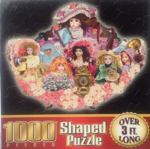1000 Piece Shaped Puzzle - What a Doll [36.25'' x 28''] - 1