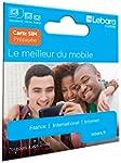 Carte Sim pr�pay�e Lebara incluant 7,...