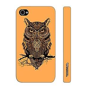Enthopia Designer Hardshell Case SNOOTY INSOMNIAC Back Cover for Apple IPhone 4