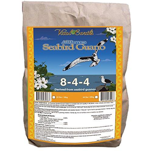 Vital Earth'S All-Purpose Seabird Guanos 8-4-4, 44-Pound Bag