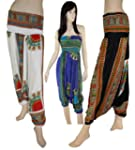 Ladies Harem Festival Tribal Print Al...