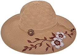ICE DRAGON Women's Hemp Hat (Beige)