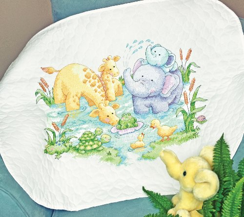 Dimensions Needlecrafts Stamped Cross Stitch, Little Pond Quilt back-930517