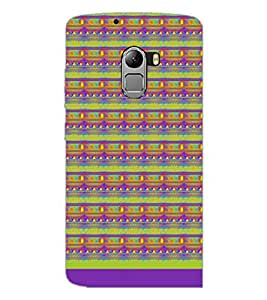 PrintDhaba Pattern D-1717 Back Case Cover for LENOVO VIBE K4 NOTE (Multi-Coloured)