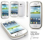 Samsung Galaxy FAME DUOS s6812 DUAL SIM Pearl White SIMFREE Android smart phone.