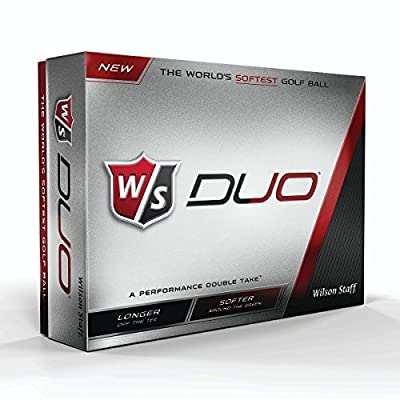 Wilson Staff Duo Golf Balls (12-Pack)