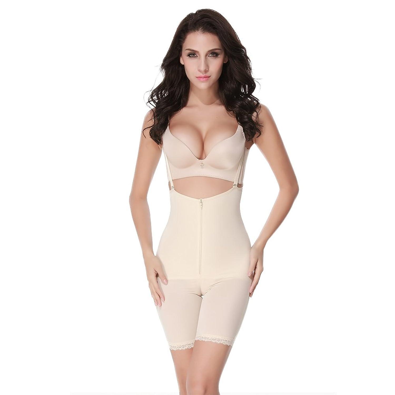 FeelinGirl Damen Miederbody Shaperwear Miederpants Corsage Korsett Schlank Bodysuit Miederhose jetzt kaufen