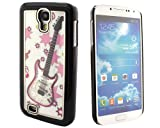 Black SWAROVSKI Element Guitar Rhinestone Crystal Hard Case Cover Skin For Samsung Galaxy S4 SIV S 4 IV i9500