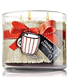 Bath & Body Works Gourmet Espresso Candle 3 Wick 14.5 Oz White Barn Made with Love 2014