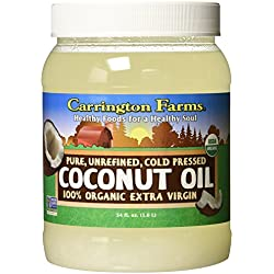 Carrington Farms Organic Extra Virgin Coconut Oil, 54 Ounce