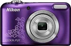 """Nikon Coolpix L29 Appareil photo numérique compact 16,4 Mpix Écran LCD 2,7"""" Zoom optique 5X Violet"""