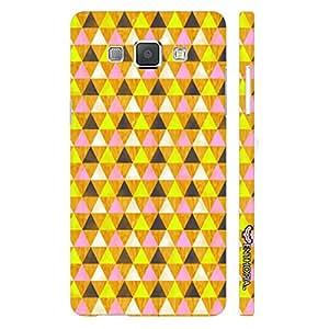 Samsung Galaxy A8 Hidden Hexagon designer mobile hard shell case by Enthopia