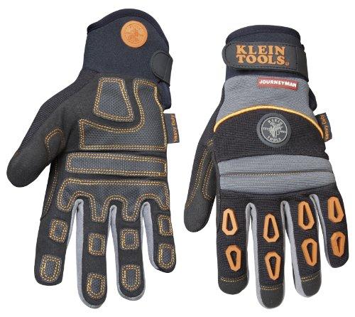 Klein Tools 40038 Journeyman Pro Heavy-Duty Protection Gloves, Medium