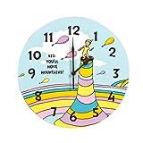 De tendencia de mesa Dr, Seuss todos los colchones cambiadores de pared con dise�o de reloj con forma de botella, que te permite monta�as capacidad de movimiento
