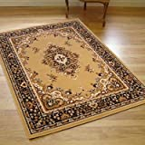 Large Traditional Vegas Runner In Beige 0.67m X 2.0m (2'3 X 6'6 Approx)
