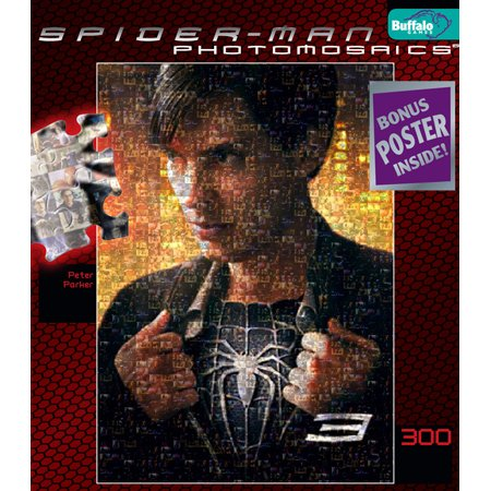 Spiderman 3 Photomosaic Peter Parker Jigsaw Puzzle 300pc