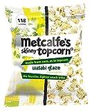 Metcalfe's Skinny Topcorn Wasabi Glaze 25 g (Pack of 12)