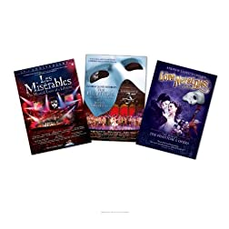 Musical 3 Pack (Les Miserables/The Phantom of the Opera/Andrew Lloyd Webber's Love Never Dies)