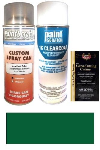 1992 Dodge Ram 50 Emerald Green Pearl G84/Pg2 Touch Up Paint Spray Can Kit - Original Factory Oem Automotive Paint - Color Match Guaranteed
