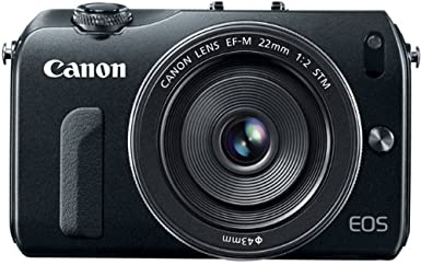 Canon EOS M 18.0 MP Compact Systems Camera with 3.0-Inch LCD and EF-M 22mm STM Lens $299.00