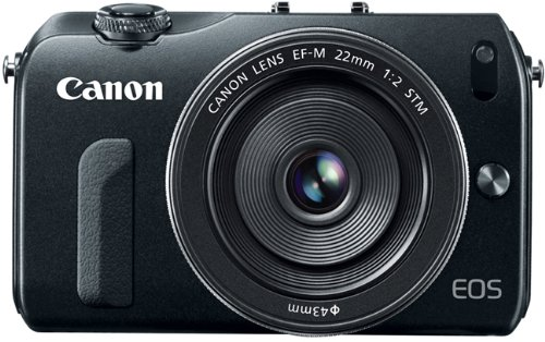 Canon EOS M Mirrorless Camera Kit with EF-M 22mm STM Lens