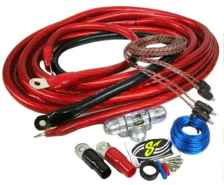 Stinger 8 Gauge Amplifier Wiring Kit W/ Rca Cables