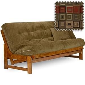 arden futon set full size frame premium 8