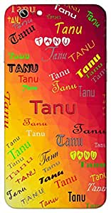Tanu (Slim) Name & Sign Printed All over customize & Personalized!! Protective back cover for your Smart Phone : Samsung Galaxy S4mini / i9190