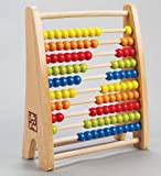 Hape Wooden Rainbow Colored Bead Abacus
