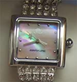 Jennifer Lopez JLo Watch Mother of Pearl with crystal strands Fossil made